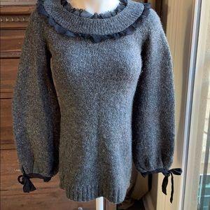 Twelve by twelve balloon sleeve sweater